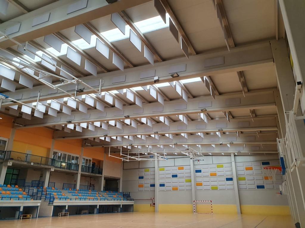 Acondicionamiento Acústico para Pabellones Deportivos