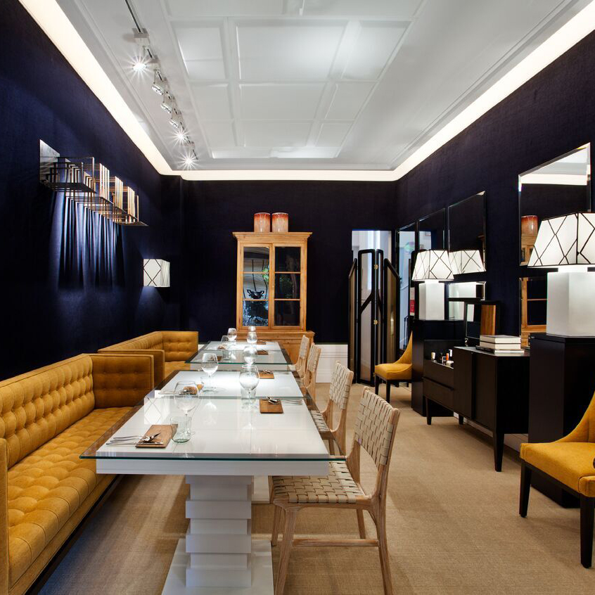 CASA DECOR – RESTAURANTE BLUE URBAN – MANUEL ESPEJO
