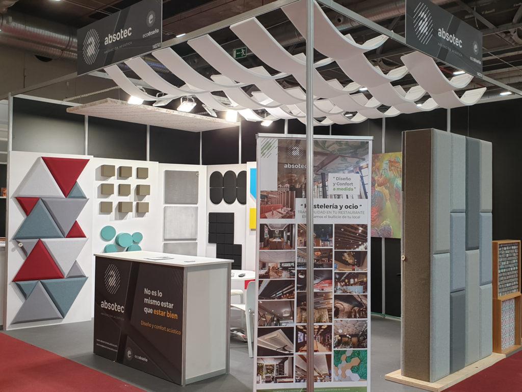 La efectividad y diseño de Absotec despierta gran interés en el evento internacional HIP 2020