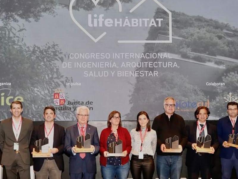 Las soluciones saludables de Absotec premiadas en el Congreso Life Habitat