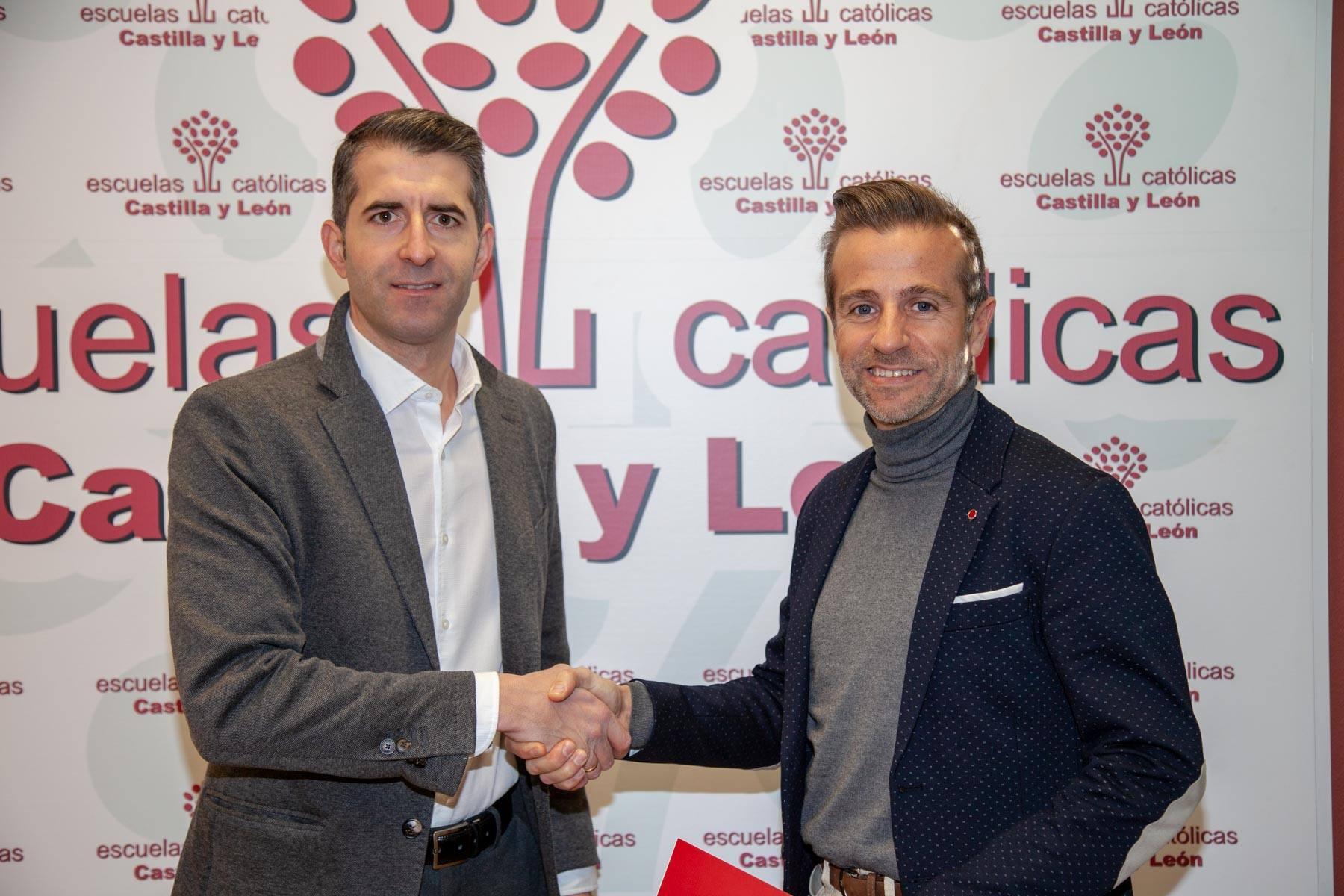 Escuelas Católicas de Castilla y León y Absotec firman un acuerdo para mejorar la salud en las aulas