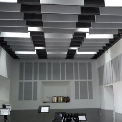 acondicionamiento acutico academia musica