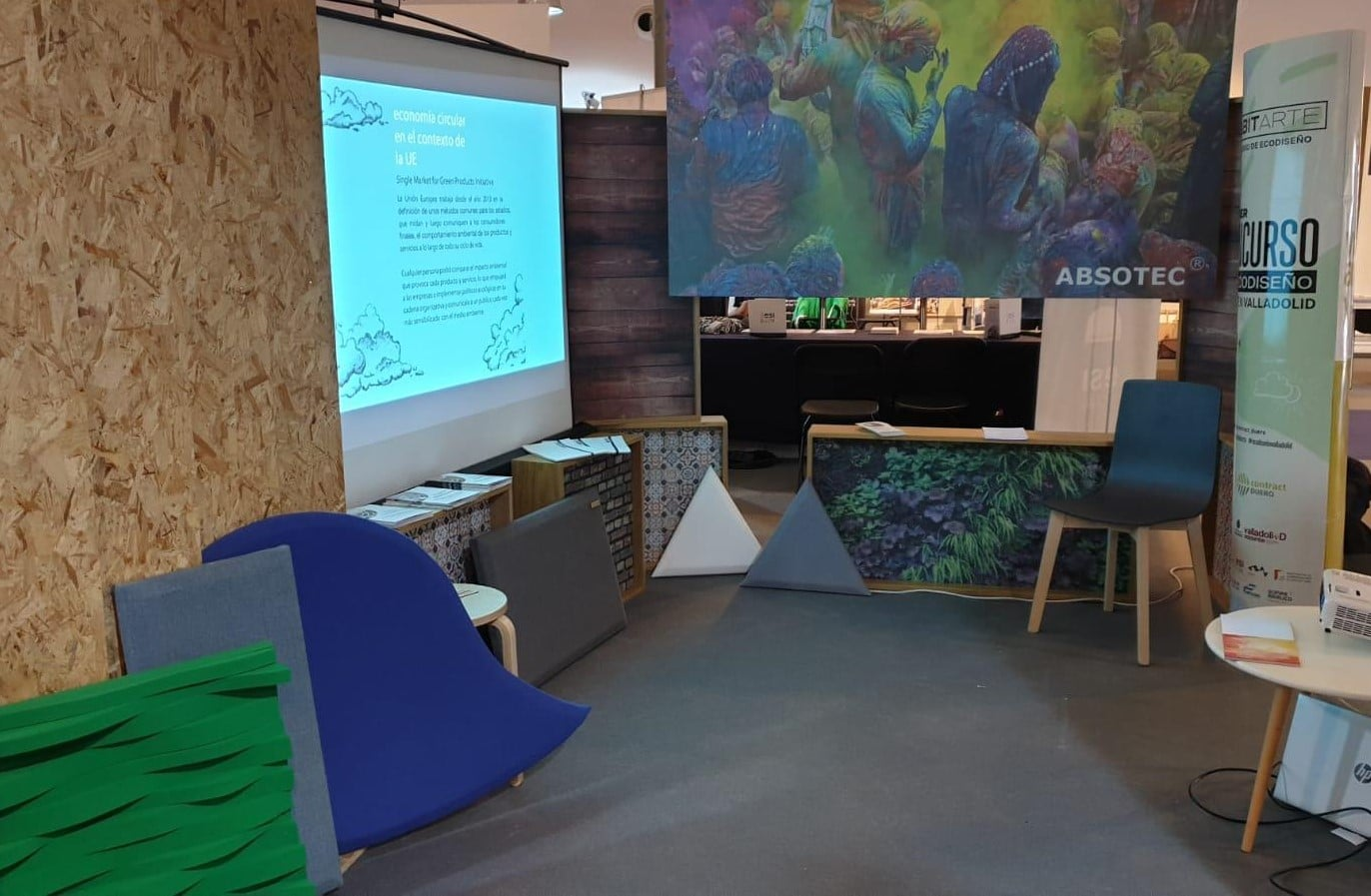 Absotec muestra sus productos en el encuentro Craft Innova