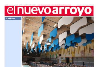 El periódico Nuevo Arroyo se hace eco de la mejora acústica del CEIP Margarita Salas