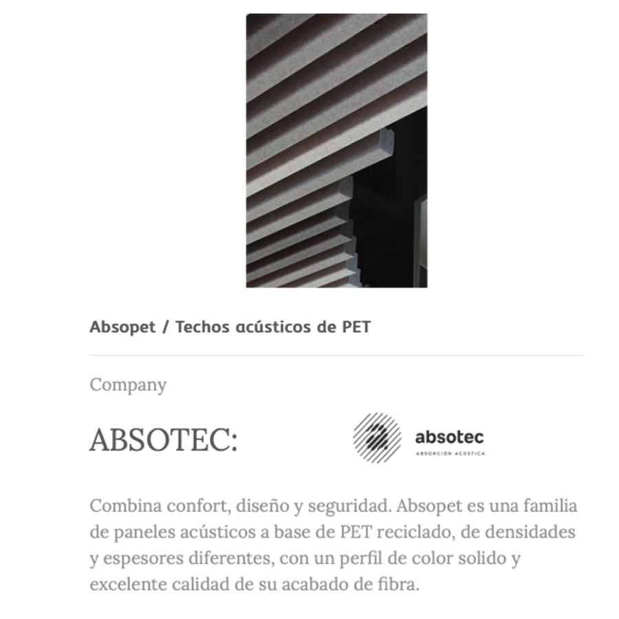 PANELADOS ACUSTICOS CASTILLA TERMAL ABSOTEC
