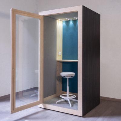 cabina acústica para reducir el ruido