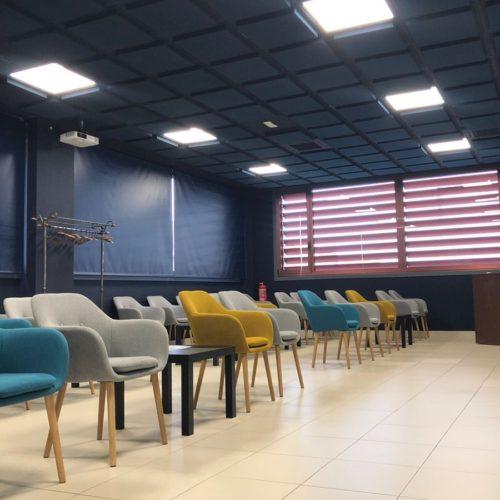paneles acusticos decorativos oficinas