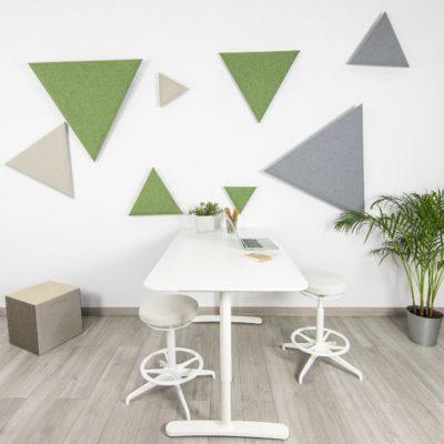 panelado acustico triangular