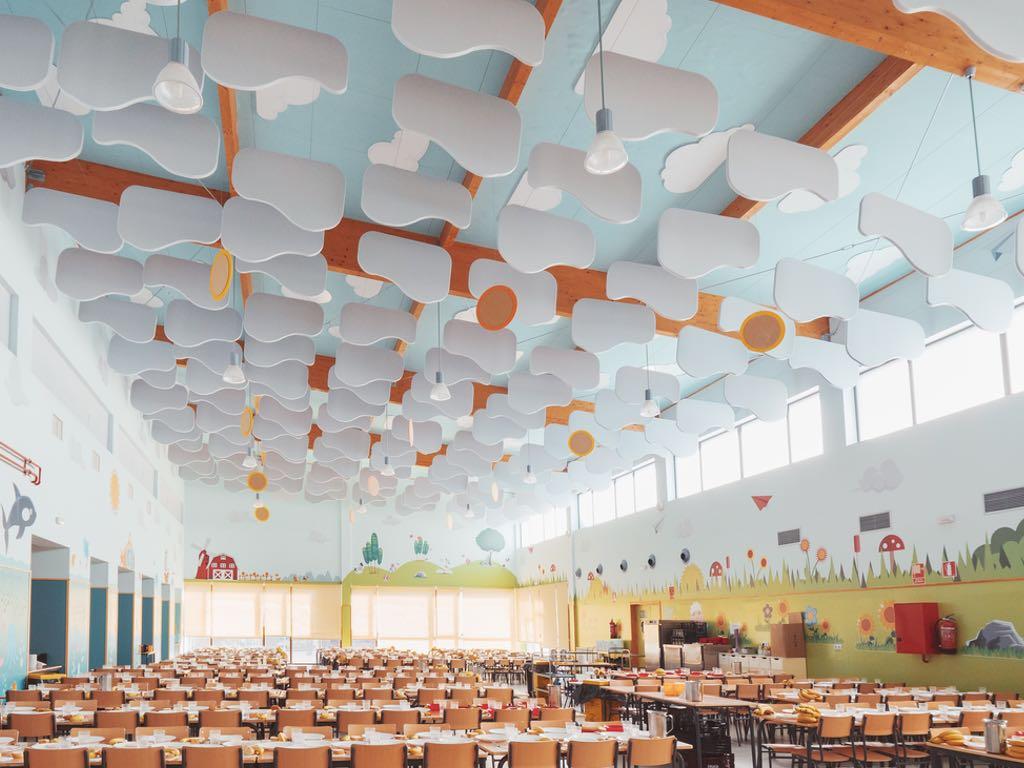 paneles acusticos personalizados para techo