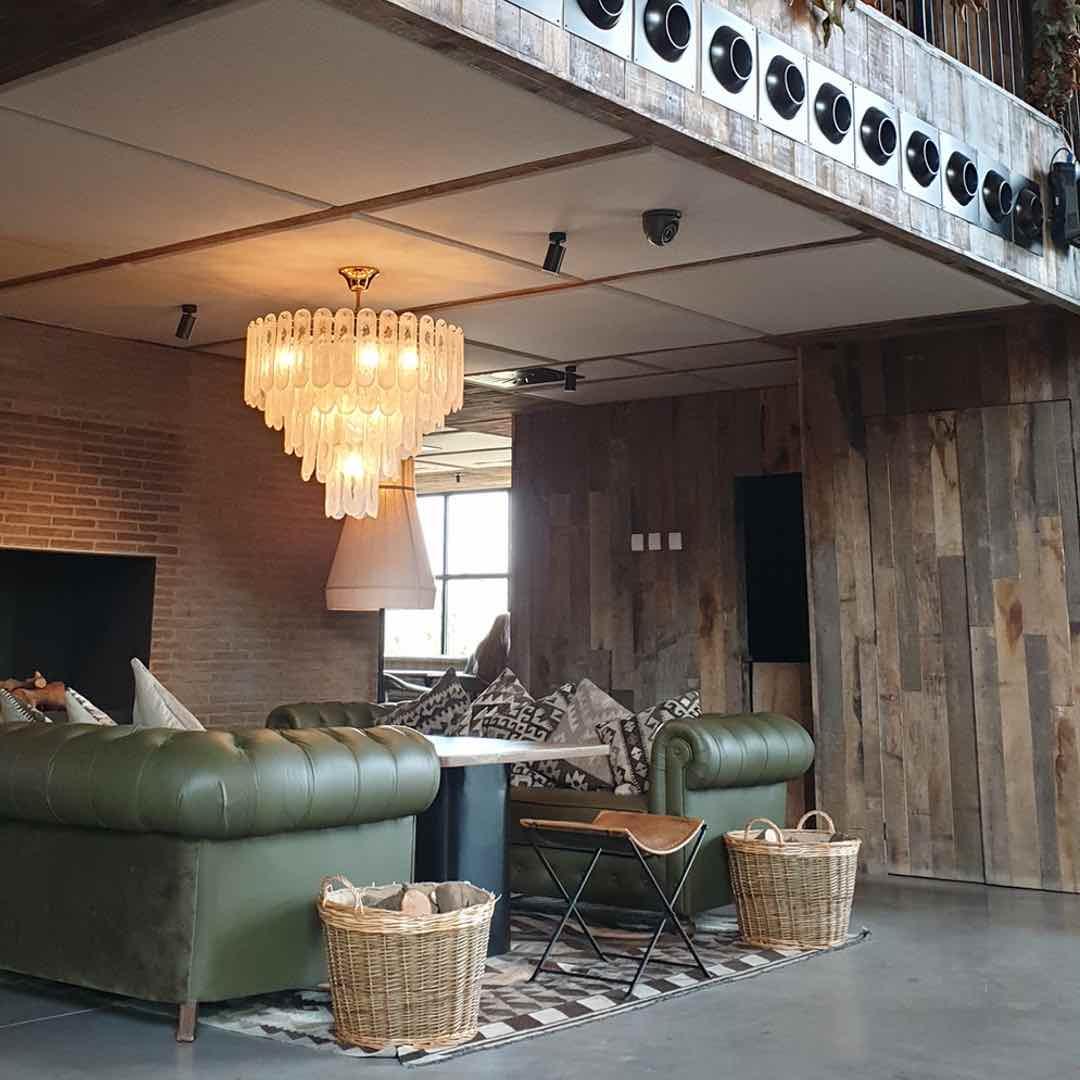 paneles para hoteles con revestimiento textil